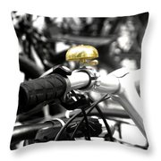 Ring A Ding Ding Throw Pillow