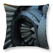 Ring And Pinion  Throw Pillow