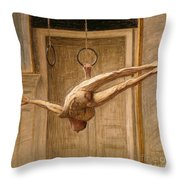 Ring Gymnast No 2 Throw Pillow by Eugene Jansson