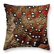 Ring-necked Pheasant Phasianus Throw Pillow