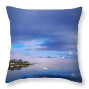 Ring Of Kerry, Dinish Island Kenmare Bay Throw Pillow