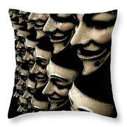 Riot Gear Throw Pillow