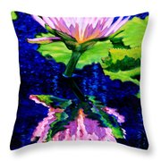 Ripple Reflections Of Beauty Throw Pillow
