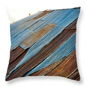 Rippled Roof  Throw Pillow