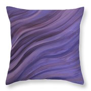 Ripples In The Sand Throw Pillow by Judy M Watts-Rohanna