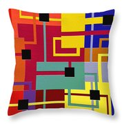 Risky Throw Pillow by Ely Arsha