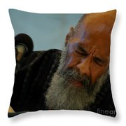 Ritchie Havens Throw Pillow