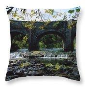 River Annalee, Ballyhaise, Co Cavan Throw Pillow