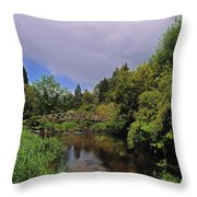 River Awbeg, Annesgrove Throw Pillow