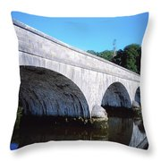 River Blackwater, Cappoquin, Co Throw Pillow