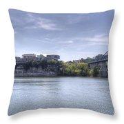 River Bluff Throw Pillow