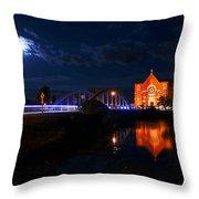 River Canard Throw Pillow