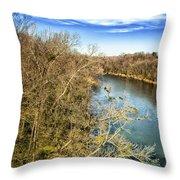 River Crossing Virginia Throw Pillow