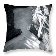 River Fall Part 2 Throw Pillow
