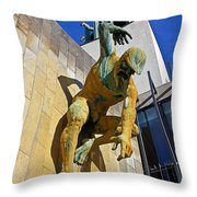River God Tyne Sculpture IIi Throw Pillow