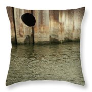 River In The City 1 Throw Pillow