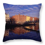 River Liffey And Halfpenny, Bridge Throw Pillow