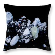River Rock Throw Pillow