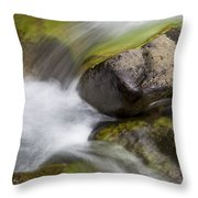 River Rocks II Throw Pillow