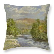 River Spey - Kinrara Throw Pillow