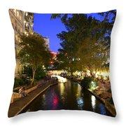 River Walk 2 Throw Pillow