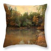 Riverbank 2 Throw Pillow