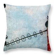 Riverboat Casino Throw Pillow