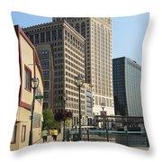 Riverwalk Crossing Throw Pillow