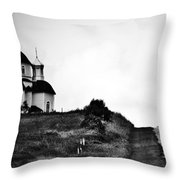 Road To Answers Throw Pillow
