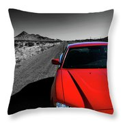 Road Trippin' Throw Pillow