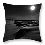 Road With Nails Throw Pillow