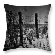 Roads Of Country  Throw Pillow