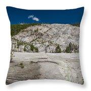 Roaring Mountain Panorama Throw Pillow
