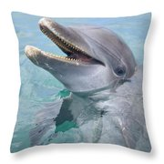 Roatan, Bay Islands, Honduras A Throw Pillow