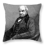 Robert Brown (1773-1858) Throw Pillow