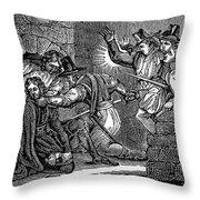 Robert Catesby (1573-1605) Throw Pillow