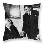 Robert H. Jackson (1892-1954) Throw Pillow