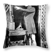 Robert Knox, Scottish Anatomist Throw Pillow