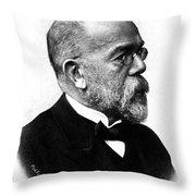 Robert Koch, German Microbiologist Throw Pillow