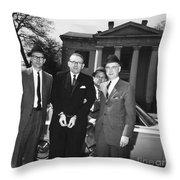 Robert Lee Johnson Throw Pillow