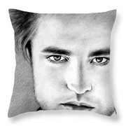 Robert Throw Pillow