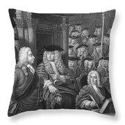 Robert Walpole (1676-1745) Throw Pillow