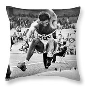 Roberto Carmona (1943- ) Throw Pillow by Granger