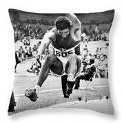 Roberto Carmona (1943- ) Throw Pillow