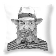 Roberto Villa Real Throw Pillow by Jack Pumphrey