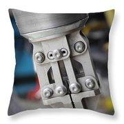 Robotic Arm On Deep Sea Submarine Throw Pillow