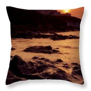 Roches Point, Whitegate, Cork Harbour Throw Pillow