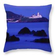 Roches Point, Whitegate, County Cork Throw Pillow