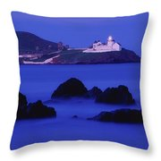 Roches Point, Whitegate, County Cork Throw Pillow