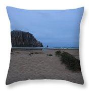Rock And Dunes Throw Pillow